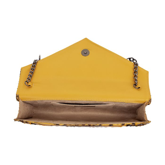 Clutch Clare amarela