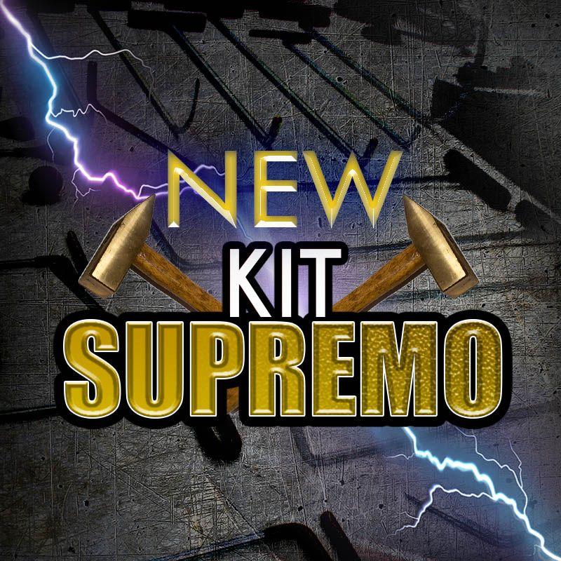 NEW Kit de ferramentas Profissional para Martelinho de Ouro Supremo