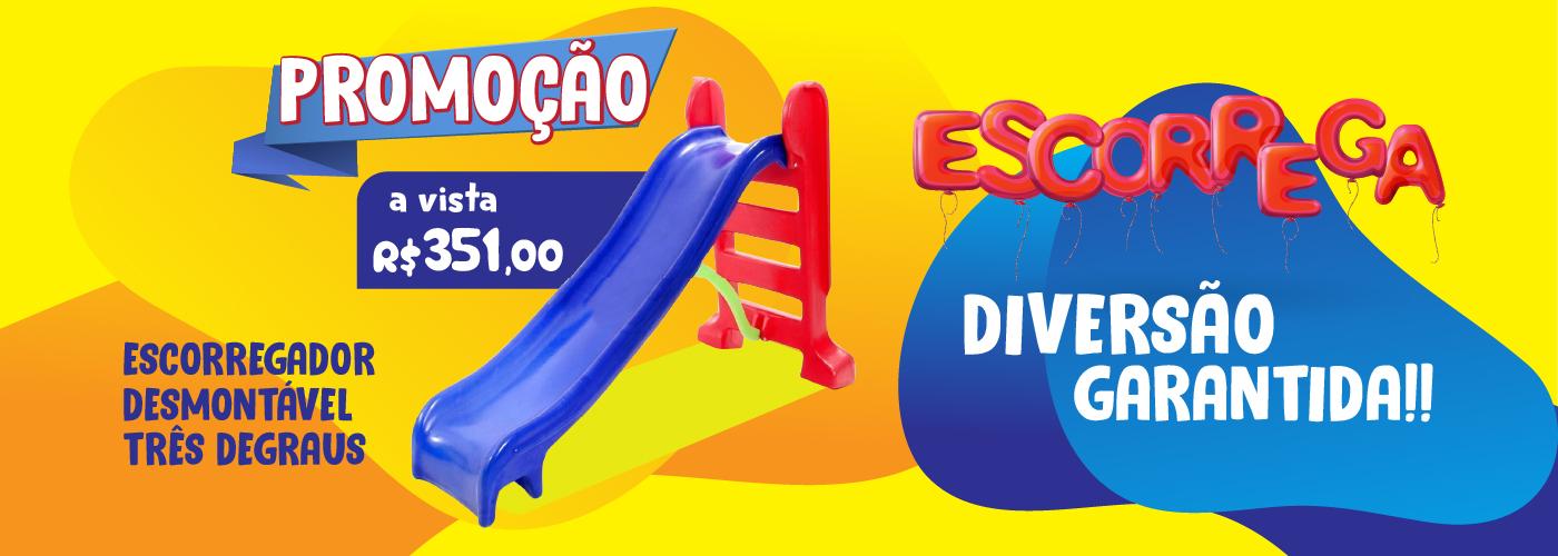 escorregador-tres-degraus-medio-desmonatvel-todo-brasil-entrega-rapida-colorido