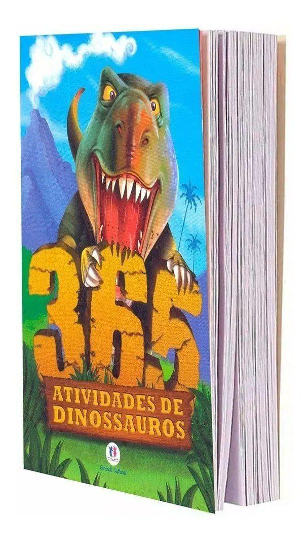 365 Atividades De Dinossauros  - Gutana Brinquedos