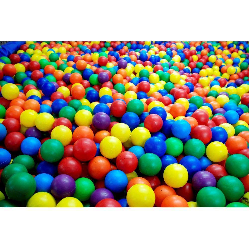 Bolinhas de Piscina 76MM 500 Unidades  - Gutana Brinquedos