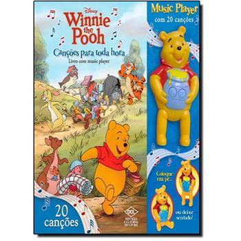 Canções Para Toda Hora - Col. Disney Winnie the Pooh - Acompanha Music Player do Pooh Com 20 Canções   - Gutana Brinquedos
