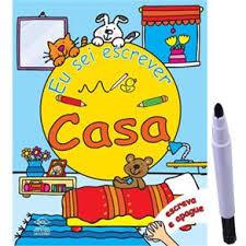 Casa: Coleção Eu Sei Escrever   - Gutana Brinquedos