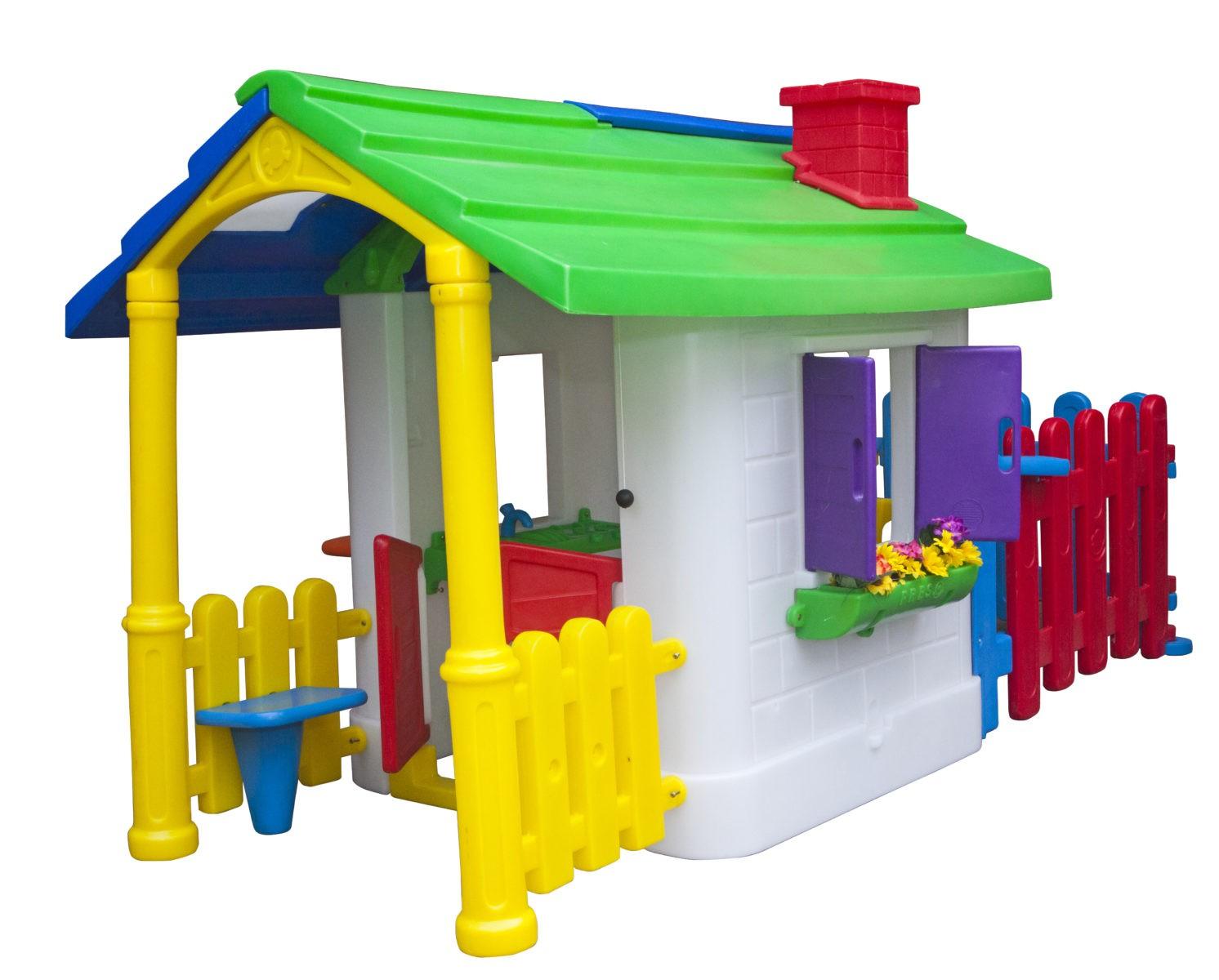 Casinha de Campo com Cerquinha  - Gutana Brinquedos