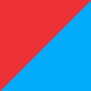 Azul/Vermelho