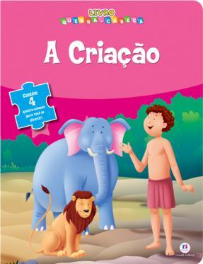Livro Quebra Cabeça  Coleção -A Criação  - Gutana Brinquedos