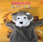FABULAS DIVERTIDAS - O MENINO E O LOBO  - Gutana Brinquedos