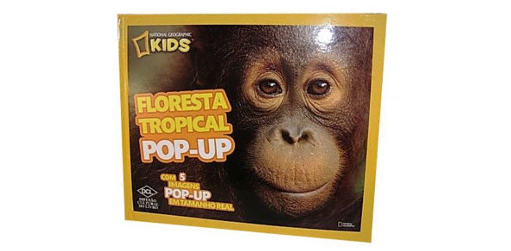 Floresta Tropical Pop-Up - Série National Geographic Kids - DCL  - Gutana Brinquedos