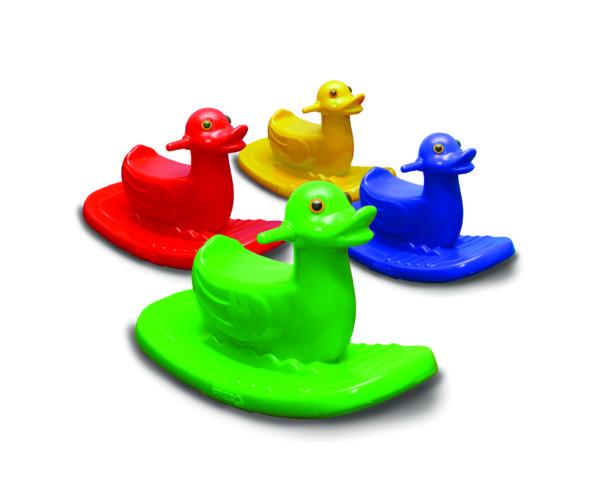 Gangorra Patinho Individual  - Gutana Brinquedos