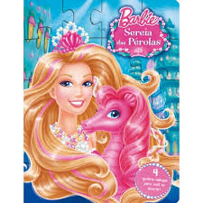 Livro Barbie: Sereias das Pérolas - Coleção Quebra-cabeças   - Gutana Brinquedos
