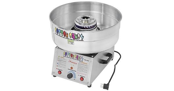 Máquina de algodão doce semi-profissional Bi-volt