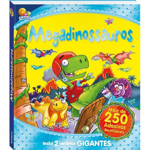 Megadinossauros - Mais de 250 Adesivos Reutilizáveis