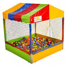 Piscina de Bolinhas 1,5x1,5 mt mod. Casinha  - Gutana Brinquedos