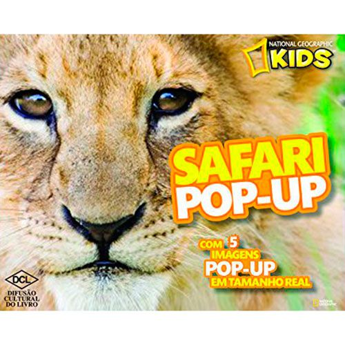 Safari Pop-Up - Série National Geographic Kids - DCL