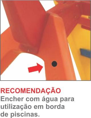 Toboágua Multicolor  - Gutana Brinquedos