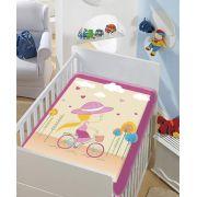 Cobertor Infantil Tradicional Bebê Não Alérgico Baby Jolitex