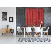 Cortina de Renda para Cozinha Color Interlar