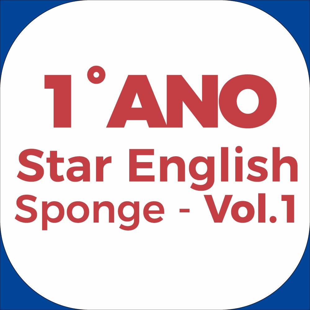 1°Ano Star English - Sponge - Vol.1