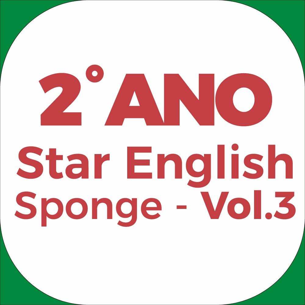 2°Ano Star English - Sponge - Vol.3