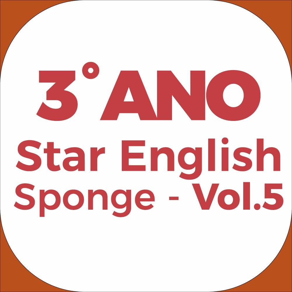 3°Ano Star English - Sponge - Vol.5