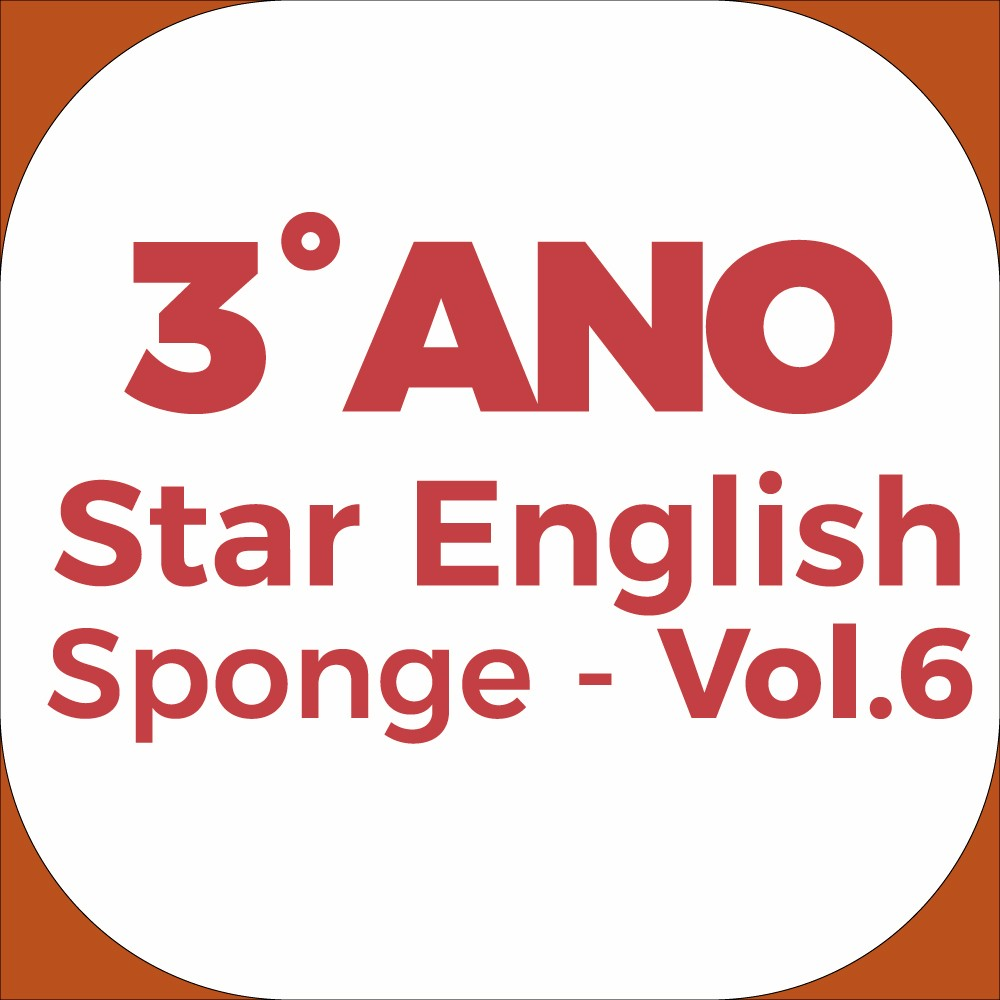3°Ano Star English - Sponge - Vol.6