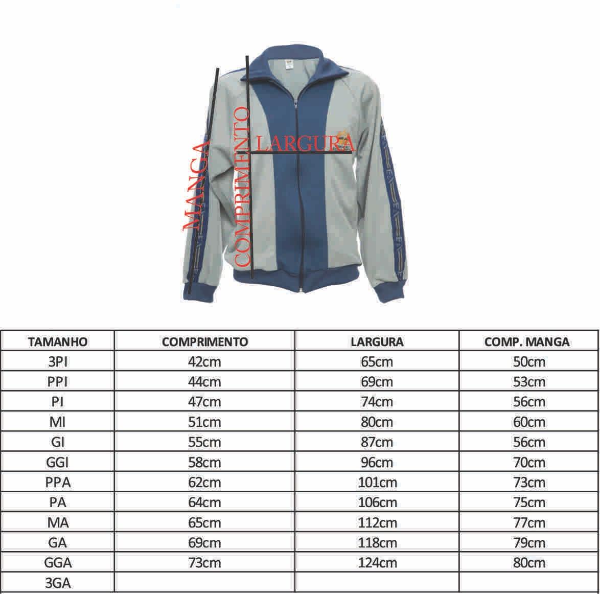 Blusão de Agasalho - GA ( 50-52 )