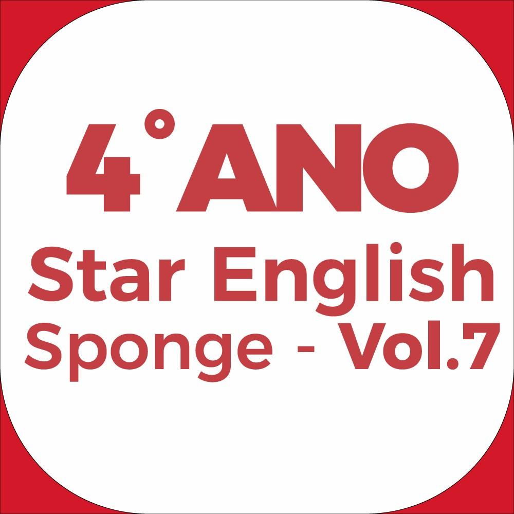 4°Ano Star English - Sponge - Vol.7