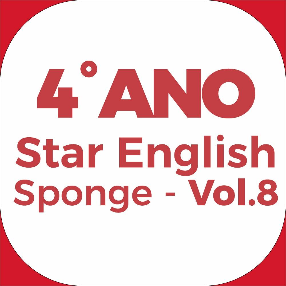 4°Ano Star English - Sponge - Vol.8