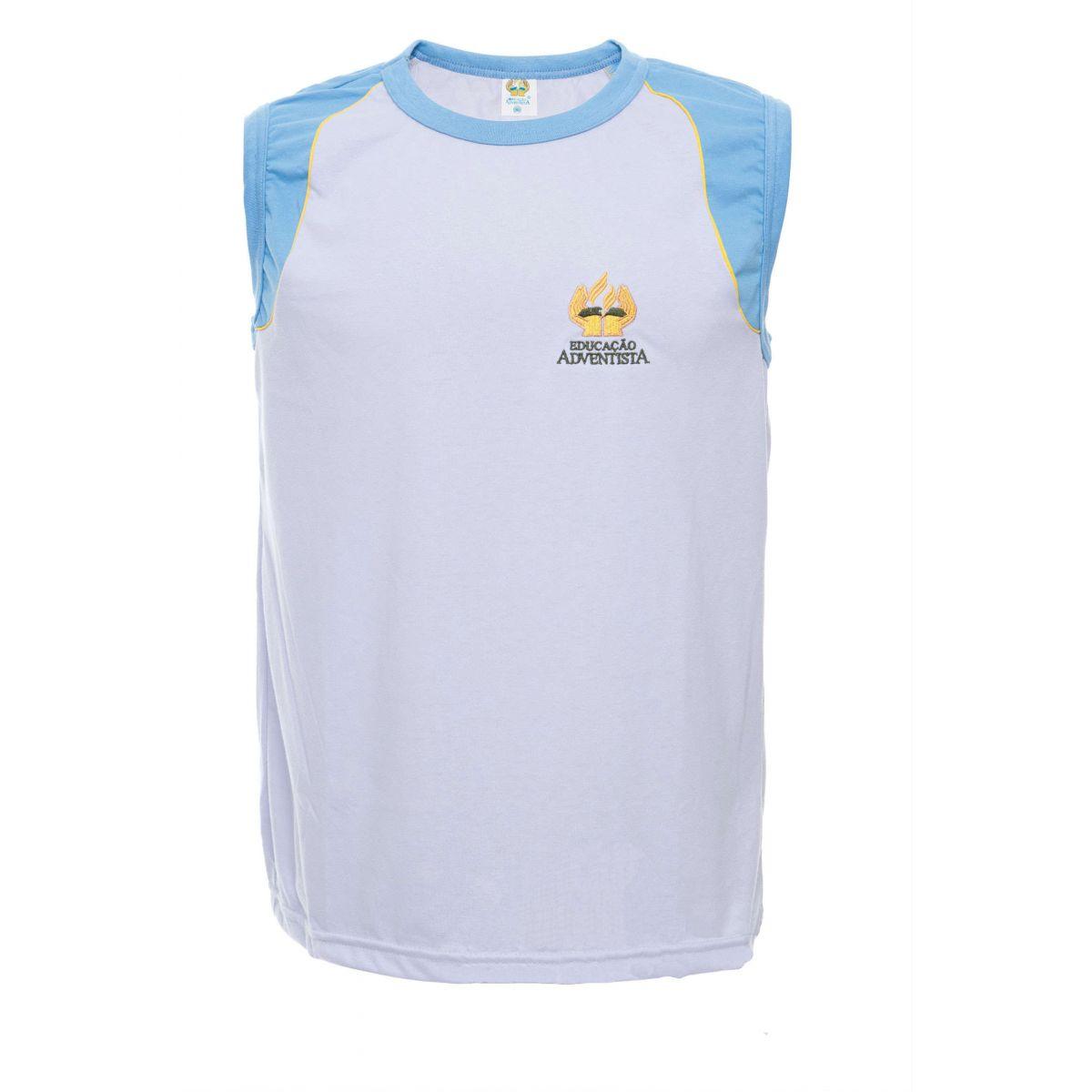 Camiseta S/ Manga - MI ( 10-12 )
