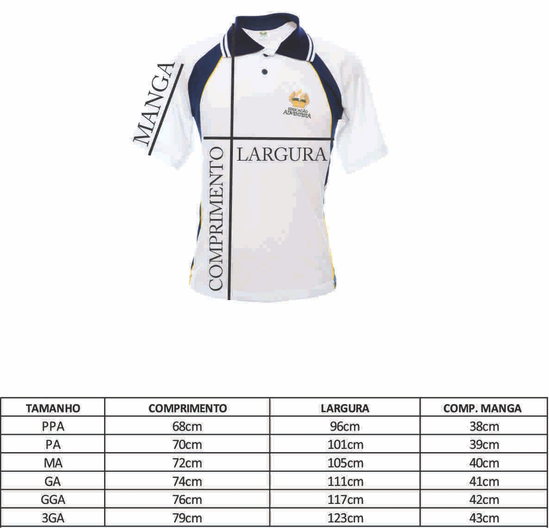 Camiseta Polo - Ens. Médio - MA ( 46-48 )