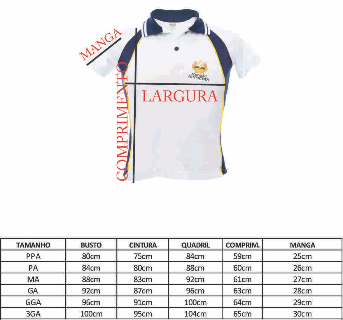 Camiseta Baby Luck - Ens. Médio - GA (50-52 )