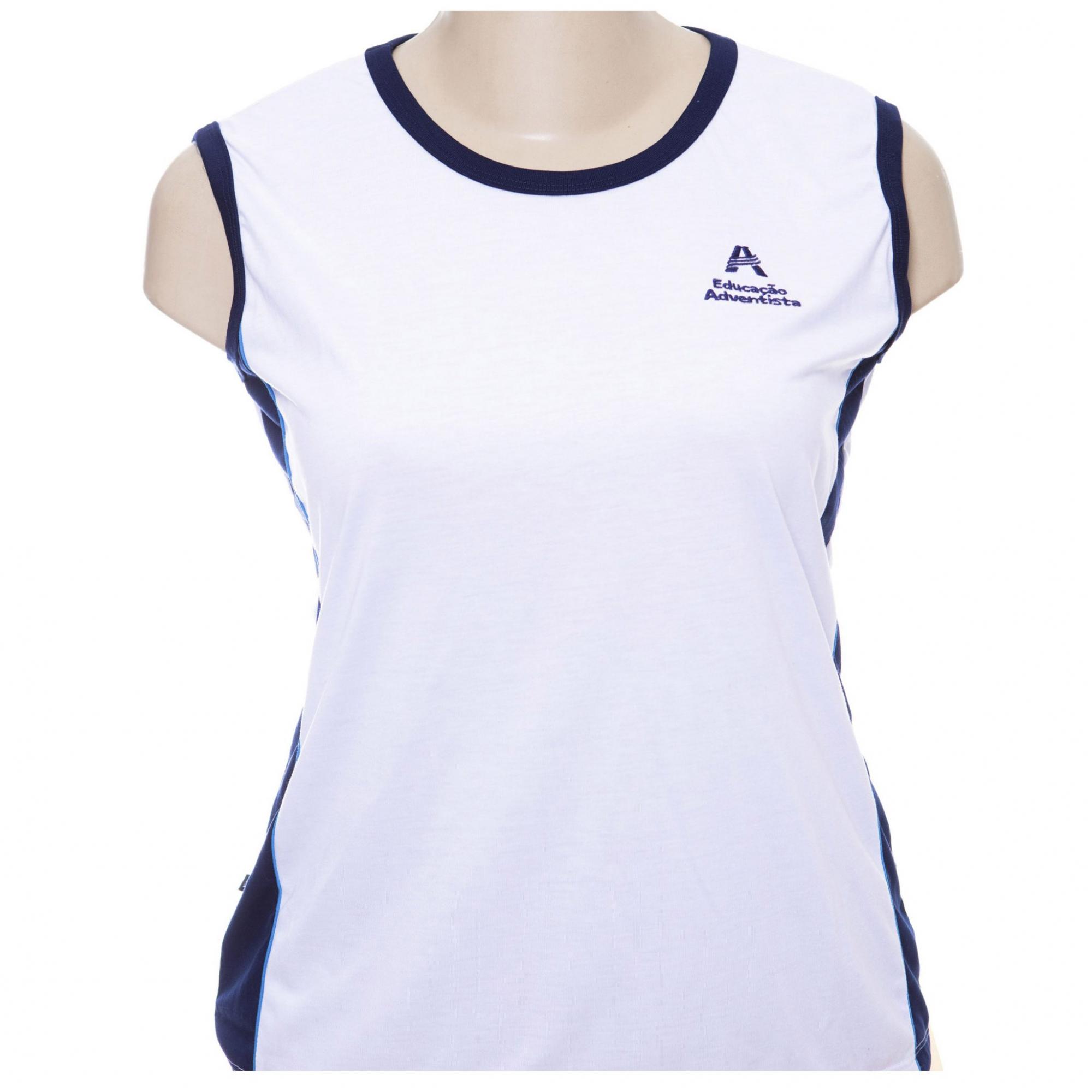 Camiseta Sem Manga feminina Ens. Médio  ( Tamanho PP )