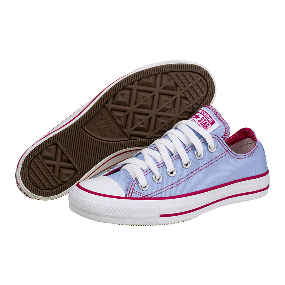 TÊNIS FEMININO CONVERSE ALL STAR CT AS ESPECIALTY TWO COLOR CÉU/MAGENTAMÉDIO - CT 032.877