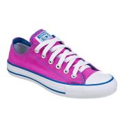 TÊNIS FEMININO CONVERSE ALL STAR CT AS ESPECIALTY TWO COLOR VIOLETA FLOR/AZUL MARINHO - CT 032.1249