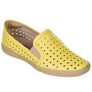 a8aa96a3bc TÊNIS FEMININO PICCADILLY SOLA PVC EXP BEGE - NAPA AMARELO PALIDO - 961004