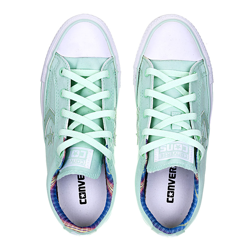 TÊNIS FEMININO CONVERSE ALL STAR STAR PLAYER CV OX MENTA/MENTA/BCO - CO 0023.0003
