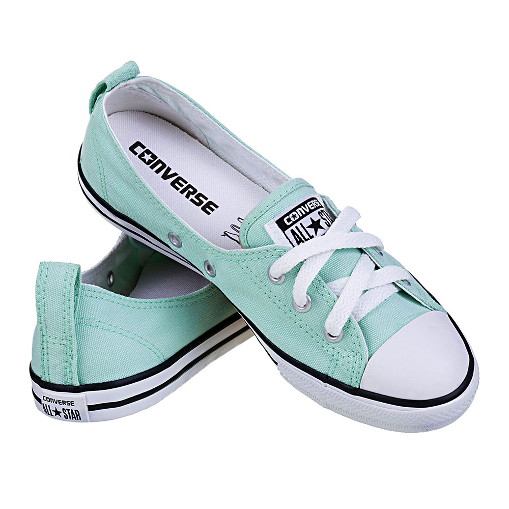 4b608c1da0 ... TÊNIS FEMININO CONVERSE ALL STAR CT AS BALLET LACE MENTA BCO PTO - CE  ...