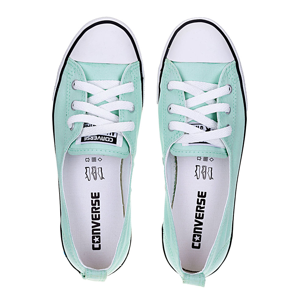 1656ad10a4 ... TÊNIS FEMININO CONVERSE ALL STAR CT AS BALLET LACE MENTA BCO PTO - CE