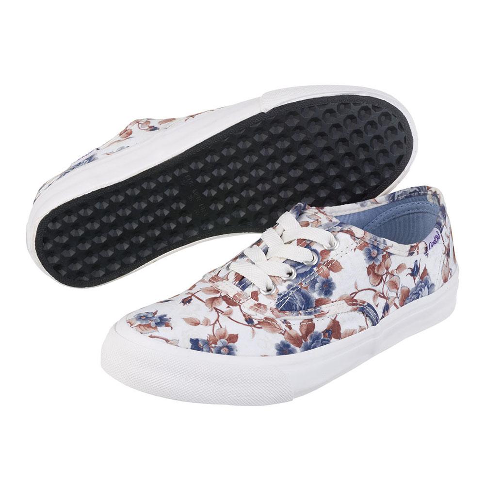 Tênis Capricho Lanai Floral Branco