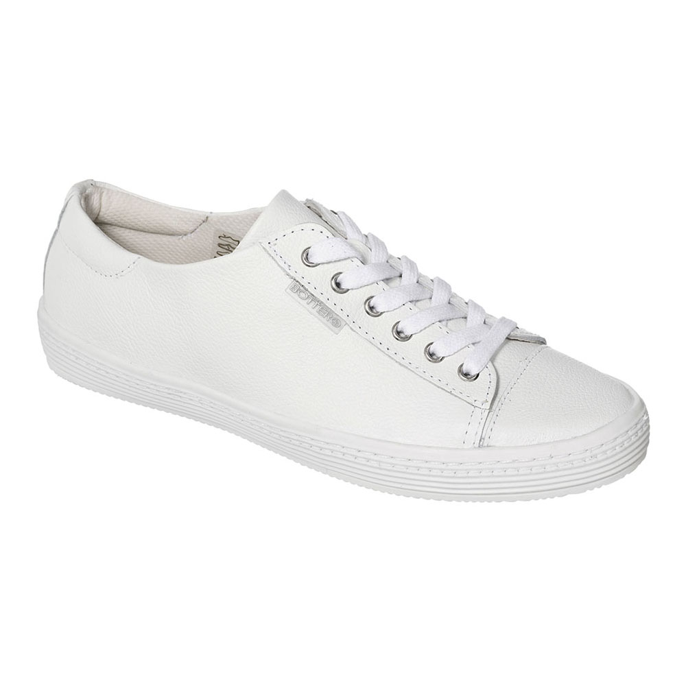 d3a24f7fe8 TÊNIS FEMININO BOTTERO COURO FLOATER BRANCO - 261601 - OurShoes