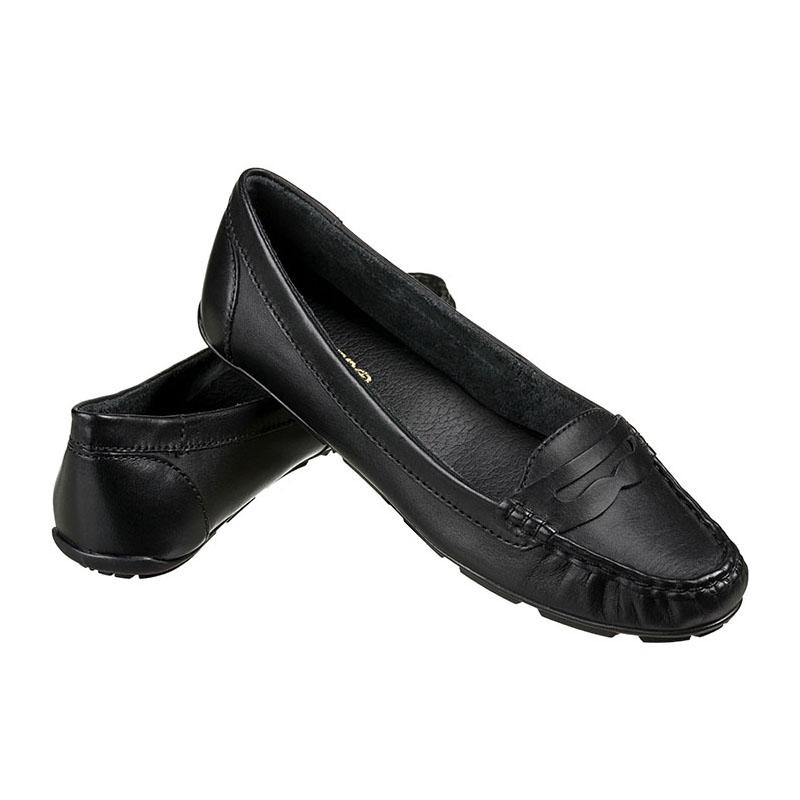 efab4db071 MOCASSIM FEMININO BOTTERO COURO TANINO PRETO - 250902 - OurShoes