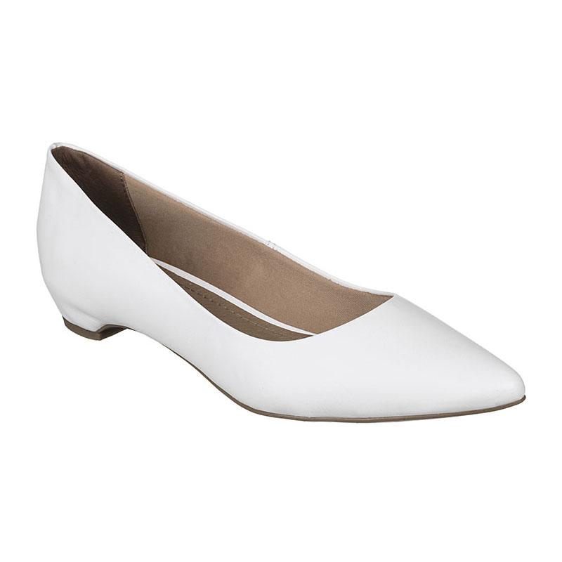 Sapato Bottero Couro Tanino Branco