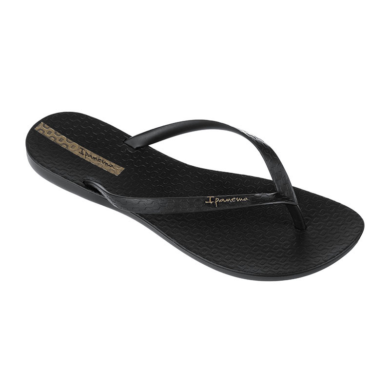 Chinelo Ipanema Wave Preto