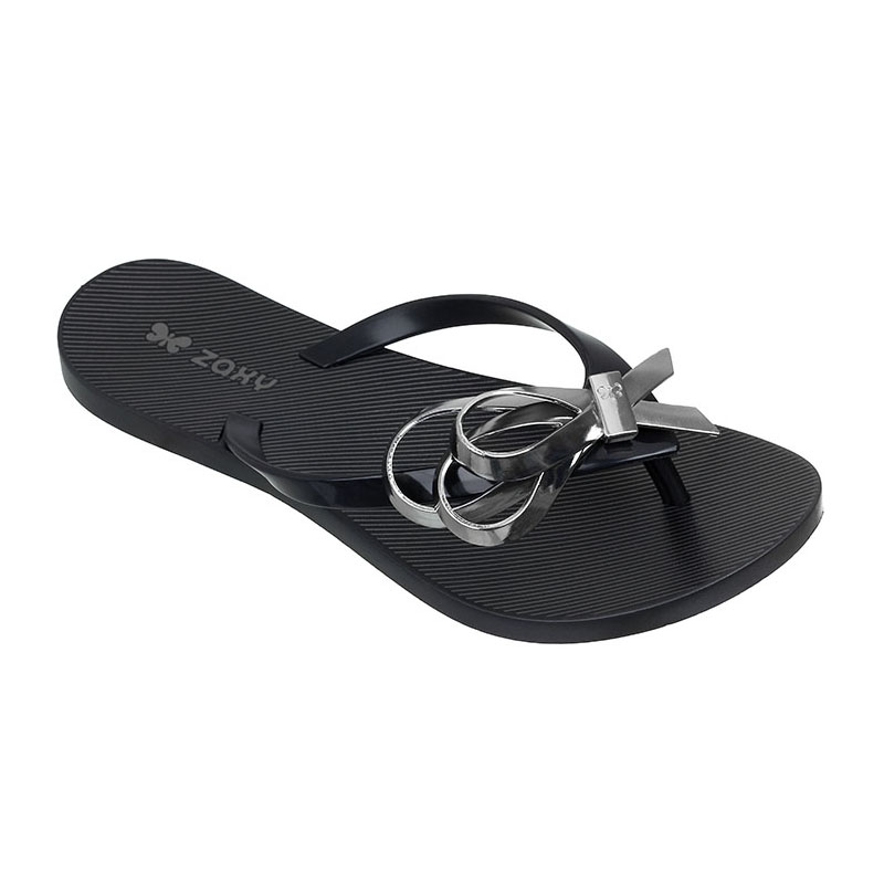 Chinelo Zaxy Fresh Luxury Ch Preto