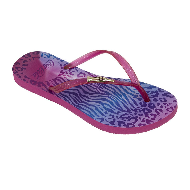 CHINELO FEMININO COCA COLA JUNGLE COLOR PINK/PINK - CC2248
