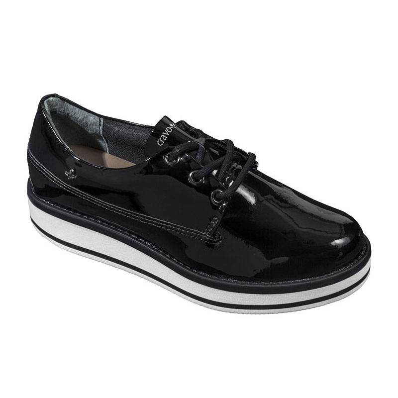 OXFORD CRAVO & CANELA ECOPELLE LUX PRETO