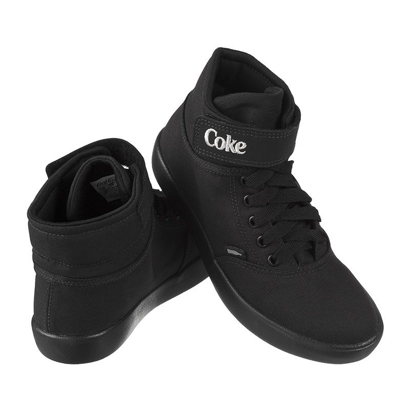 Tênis Coca-Cola Mika Ease Canvas All Black