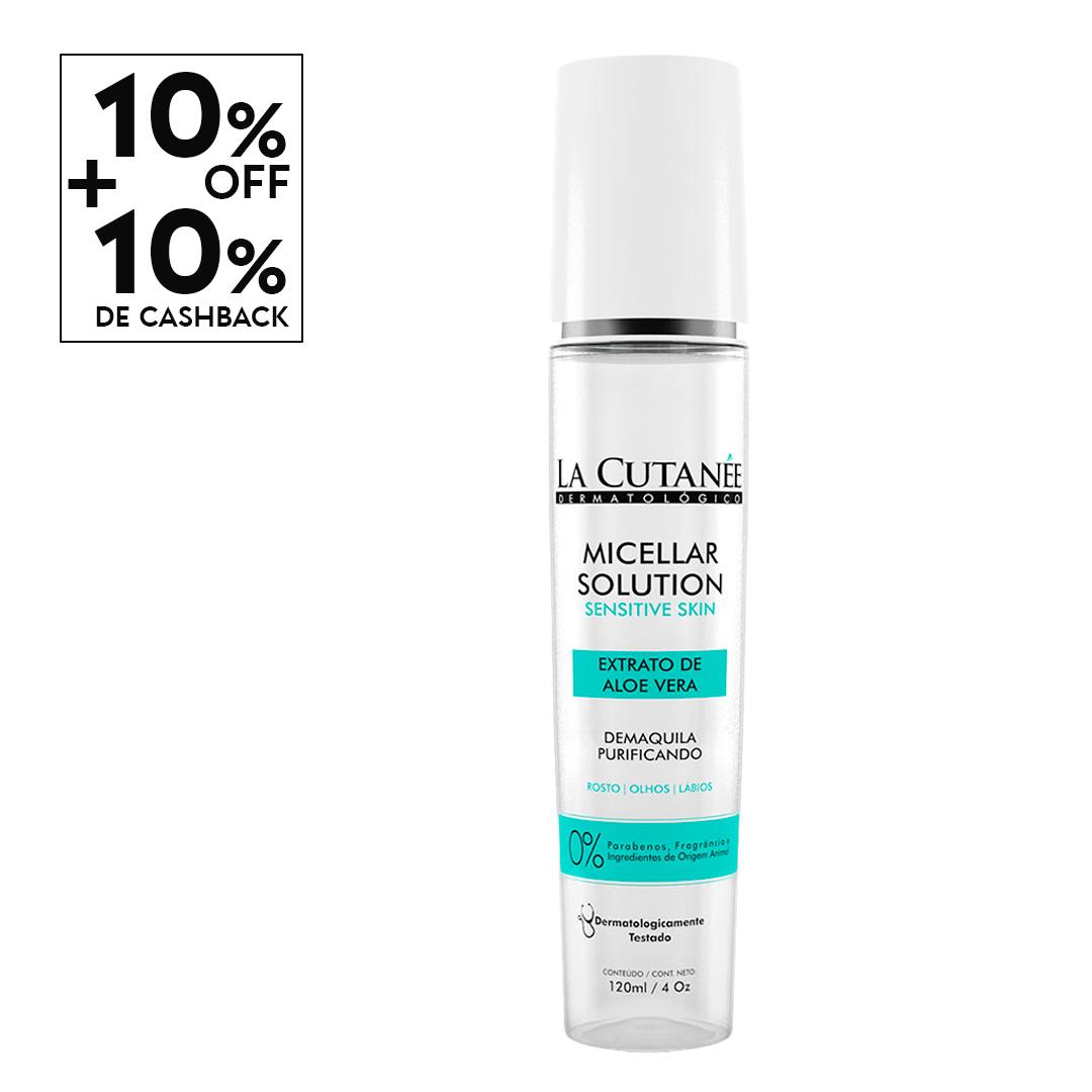 Água Micelar - Micellar Solution Sensitive Skin 120ml
