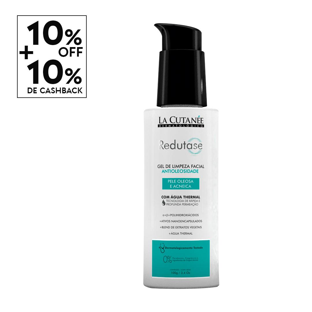 Redutase Gel de Limpeza Facial - Antioleosidade