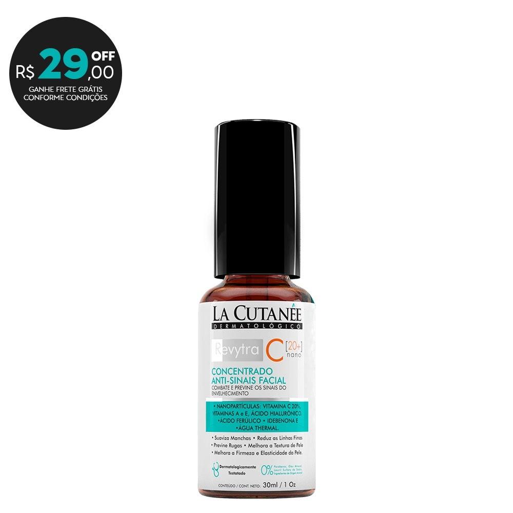 REVYTRA C [ 20+] - VITAMINA C 20%  [Nano] Clareador Facial